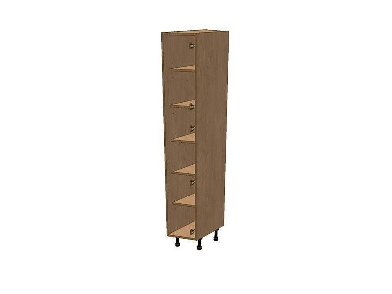 Broadoak Rye 275mm Angled Broom Unit RH 1970mm High 296 Doors