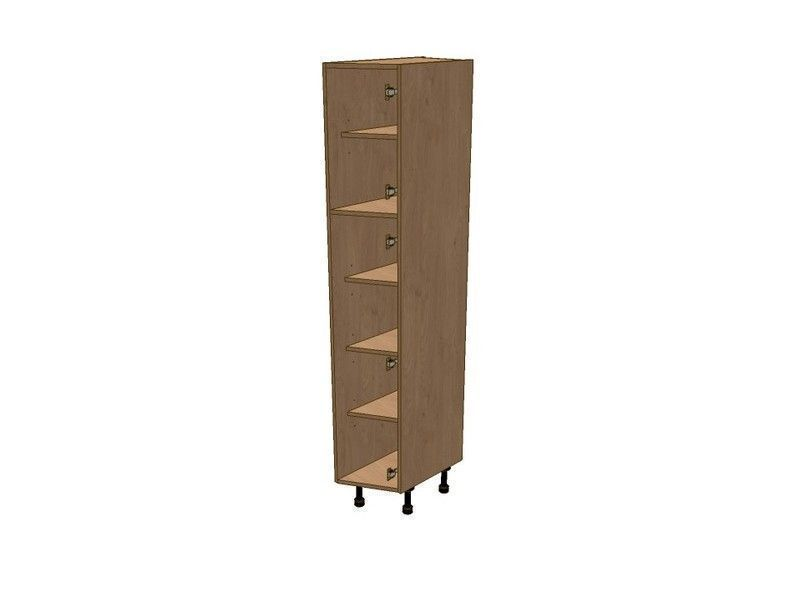 Mornington Shaker Sanded 450mm Angled Larder Unit RH 1825mm High 496 Doors