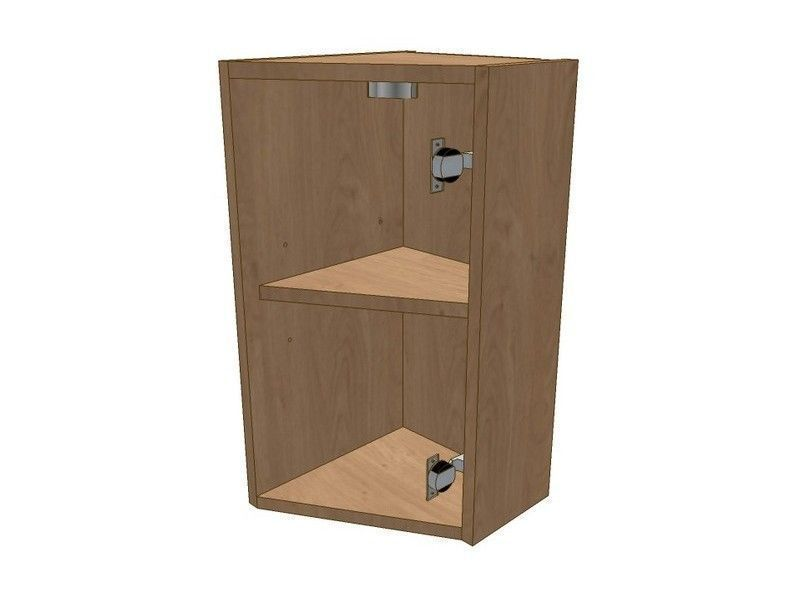 Broadoak Rye 275mm Angled Wall Unit RH To Suit 296 Door 575mm High