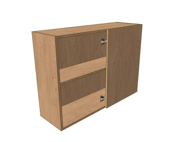 Fitzroy Stone 1000mm Corner Wall Unit 500mm RH Blank 720mm High