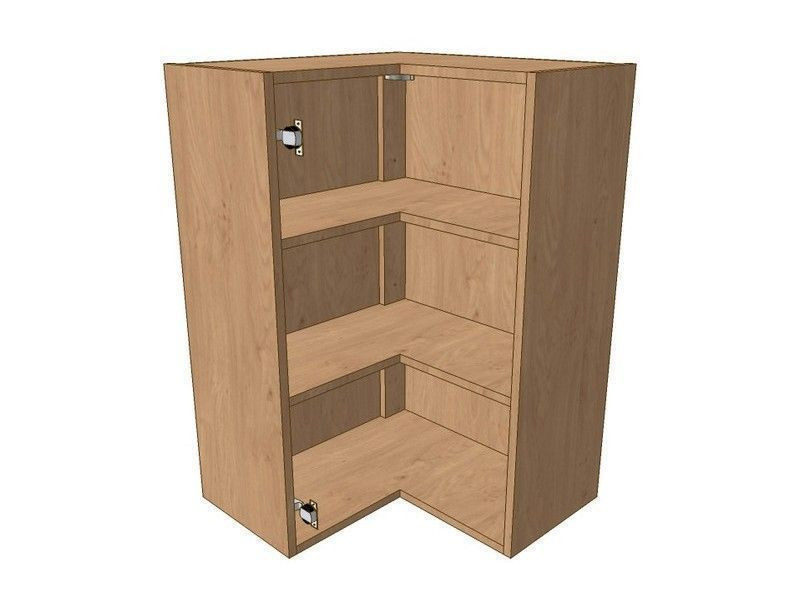 Mornington Beaded Sanded 620mm*620mm L Shaped Corner Wall Unit 900mm High