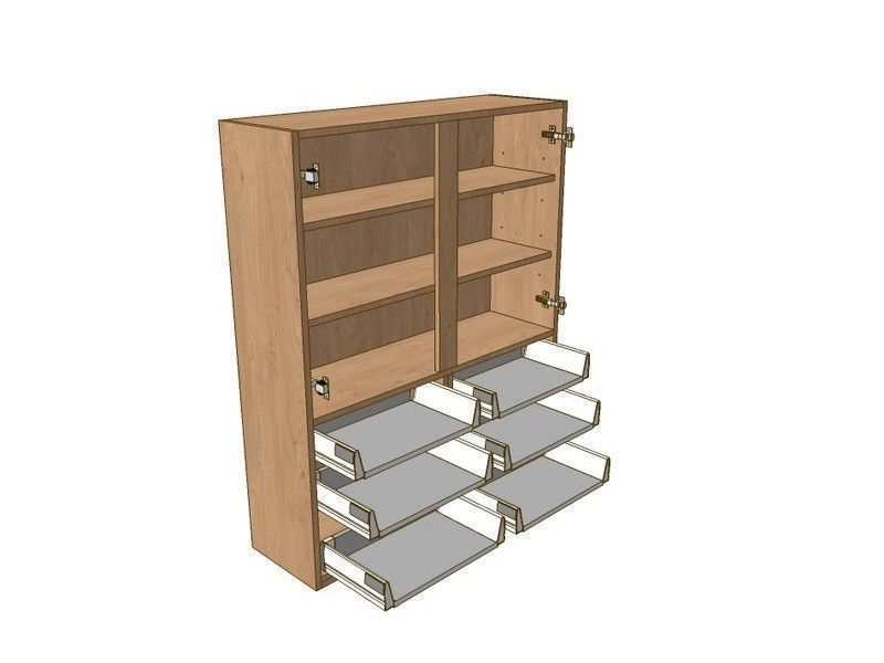 Broadoak Stone 1000mm Dresser Unit 6 Drawer To Suit 720mm Wall Units