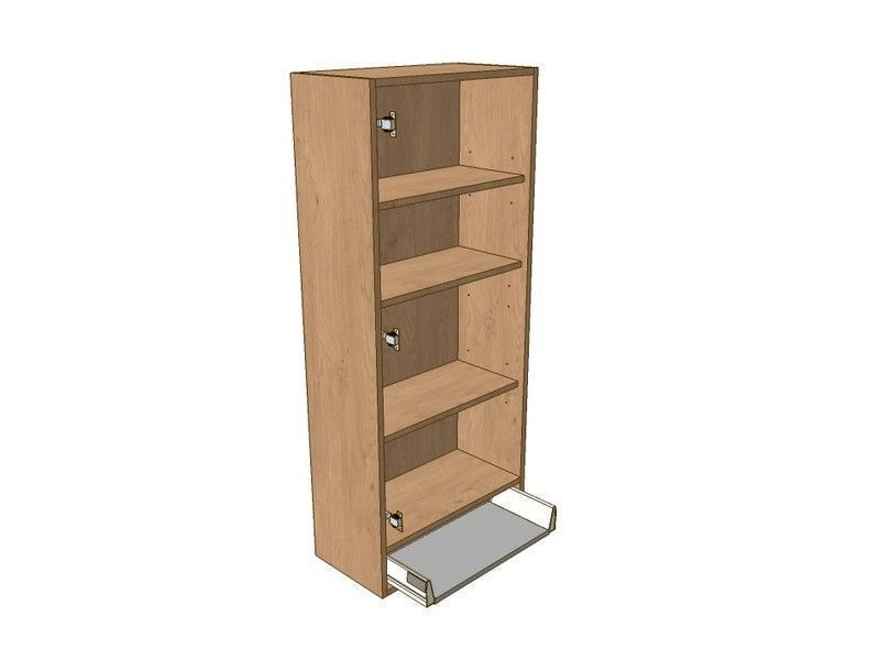 Milbourne Almond 400mm Dresser Unit 1 Drawer To Suit 900mm Wall Units