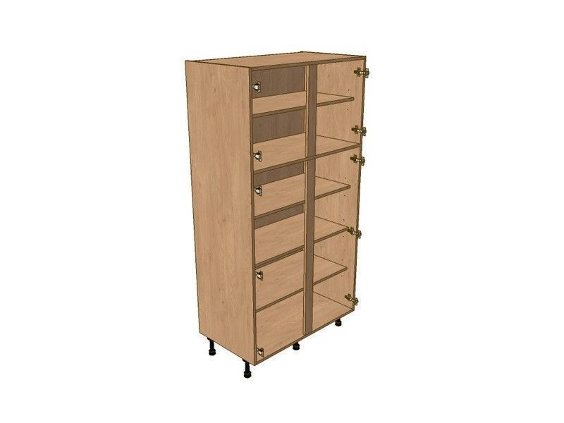 Mornington Shaker Sanded 1200mm Larder Unit 1825mm High