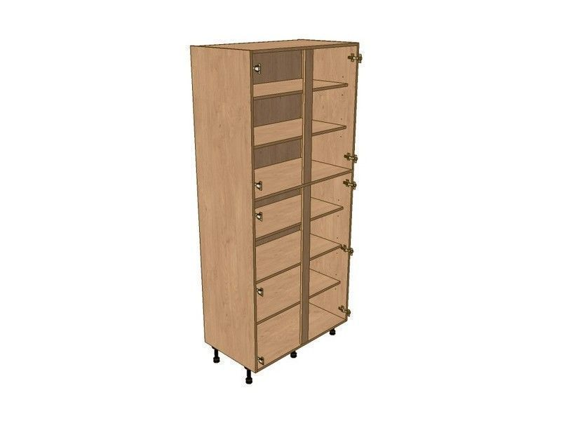 Fitzroy Graphite 1000mm Larder Unit 2150mm High