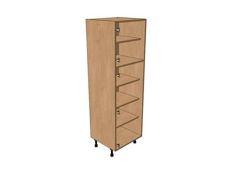 Mornington Shaker Sanded 600mm Larder Unit 1825mm High