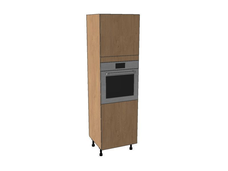 Fitzroy Partridge Grey 600mm Single Oven Housing Unit 1970mm High