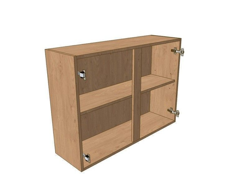 Remo Matt Paint To Order 1100mm Wall Unit 720mm High