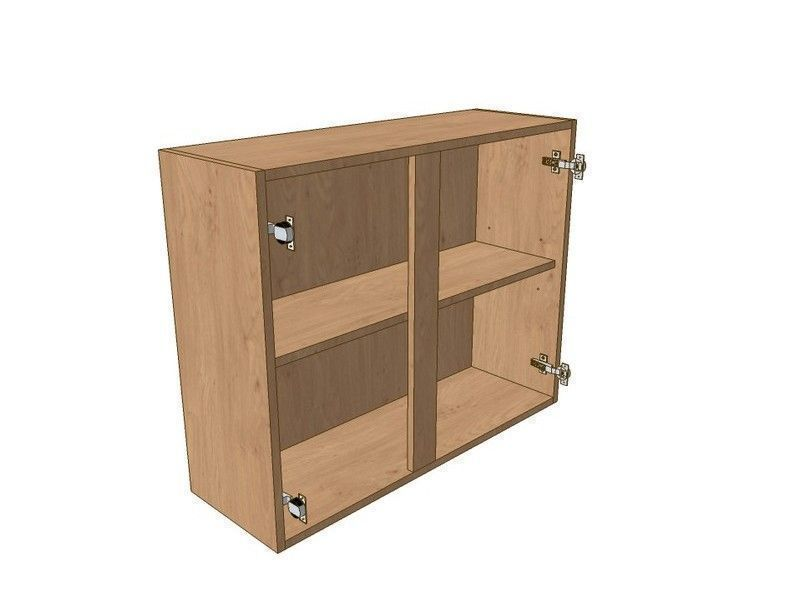 Mornington Shaker Paint To Order 1100mm Wall Unit 720mm High 500mm LH & 600mm RH