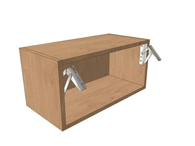 Porter Gloss Cashmere 1000mm Wall Bridging Unit - 290mm High