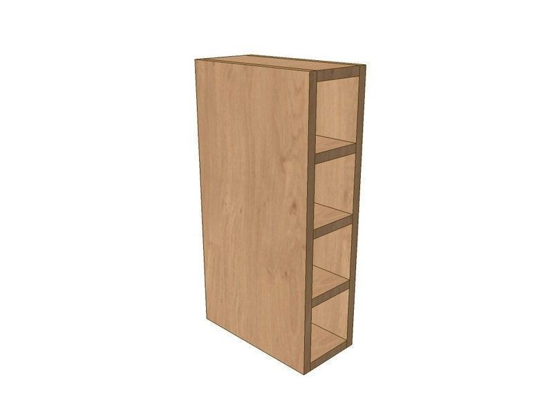 Milton Sanded In-frame 150mm Wall Wine Rack Pigeon Hole Unit 575mm High