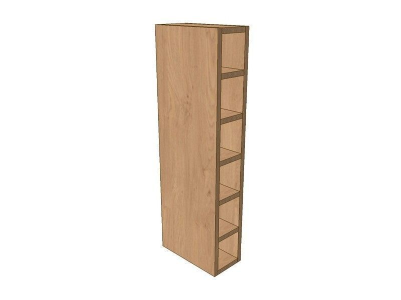 Milton Sanded In-frame 150mm Wall Wine Rack Pigeon Hole Unit 900mm High