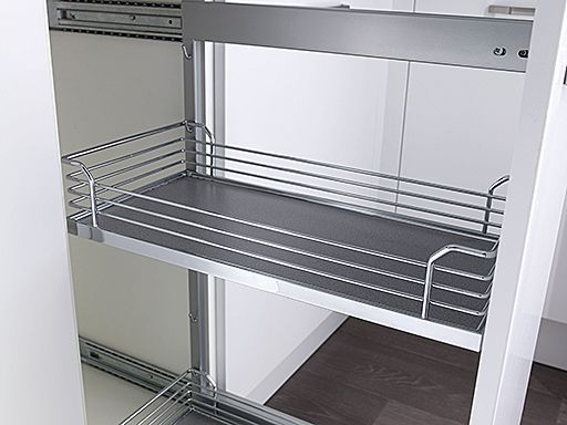 1000mm Highline Cnr Base With LeMans Arena 500mm LH Blank | DIY Kitchens 4 U