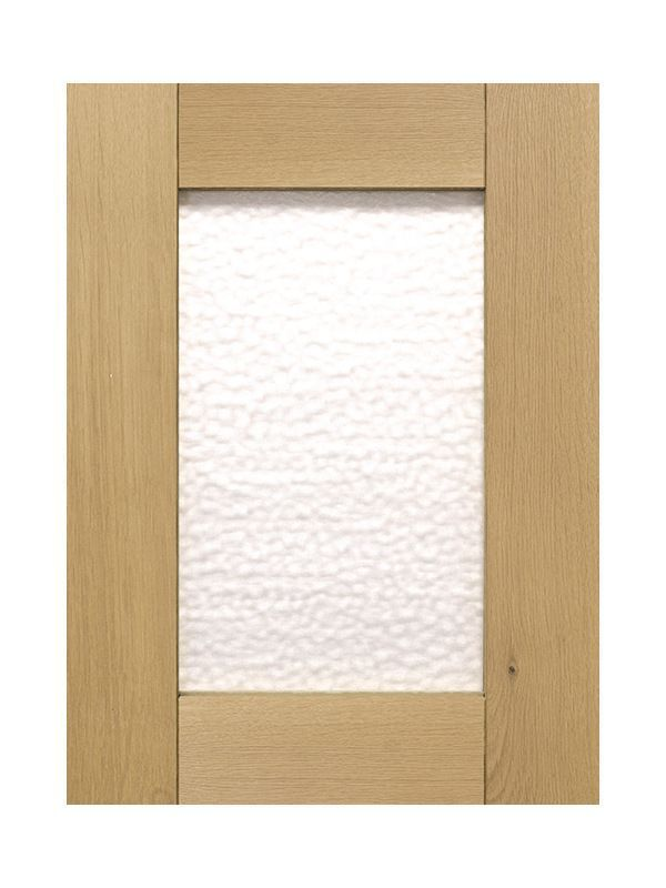 715x397mm, clear glazed Broadoak Natural Feature Door