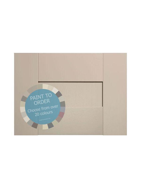 283x497mm Broadoak Paint To Order Pan Drawer