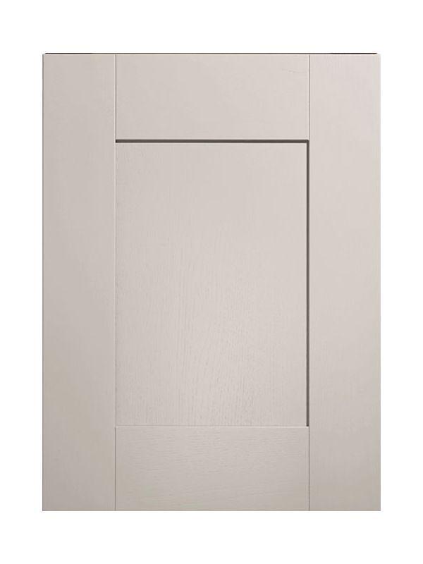 450x597mm Broadoak Partridge Grey Door