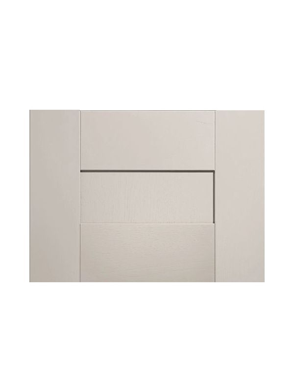 283x497mm Broadoak Partridge Grey Pan Drawer