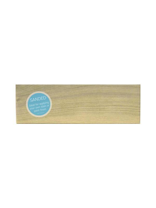 115x597mm Broadoak Sanded Drawer