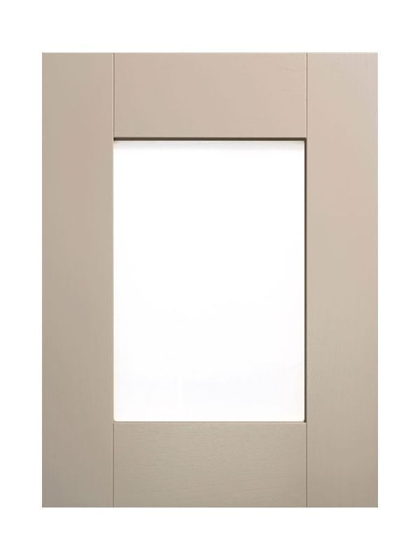 715x397mm, clear glazed Broadoak Stone Feature Door