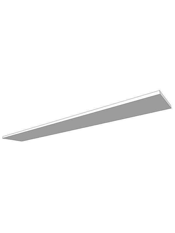 Broadoak Stone Flying shelf, profiled front, finished both sides & edges, 2400x325x28mm