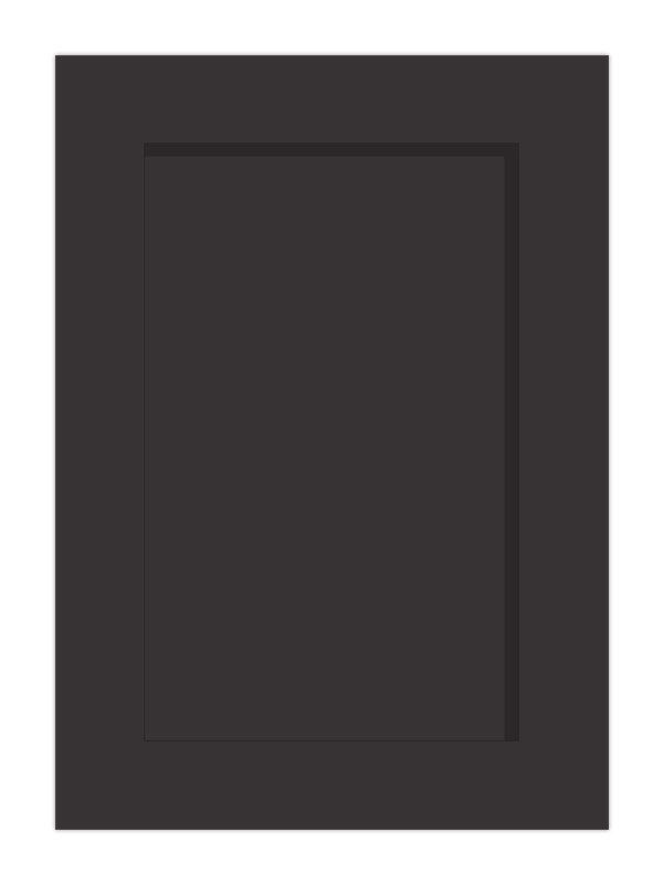 1245x297mm Mornington Shaker Graphite Door