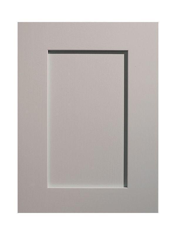 1245x297mm Mornington Shaker Partridge Grey Door
