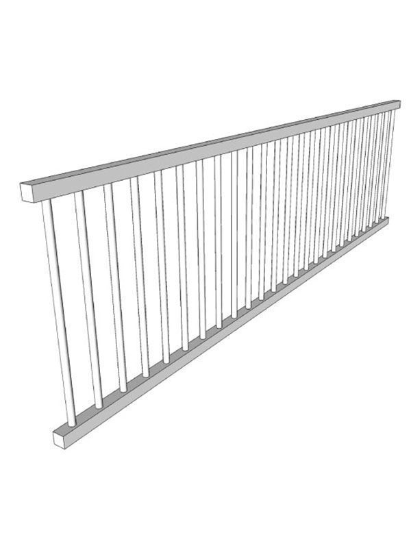 Broadoak Partridge Grey Plate rack, 1200x336mm