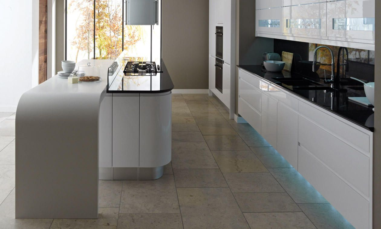 Remo Gloss White 500mm Wall Boiler Housing Unit 900mm High   DIY Kitchens 4 U