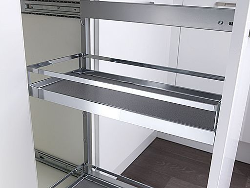 1000mm Highline Cnr Base With LeMans Style 500mm RH Blank | DIY Kitchens 4 U