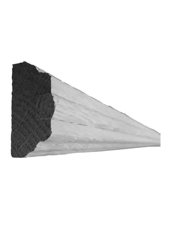 Broadoak Sanded Worktop edge, 2 piece, 3050mm
